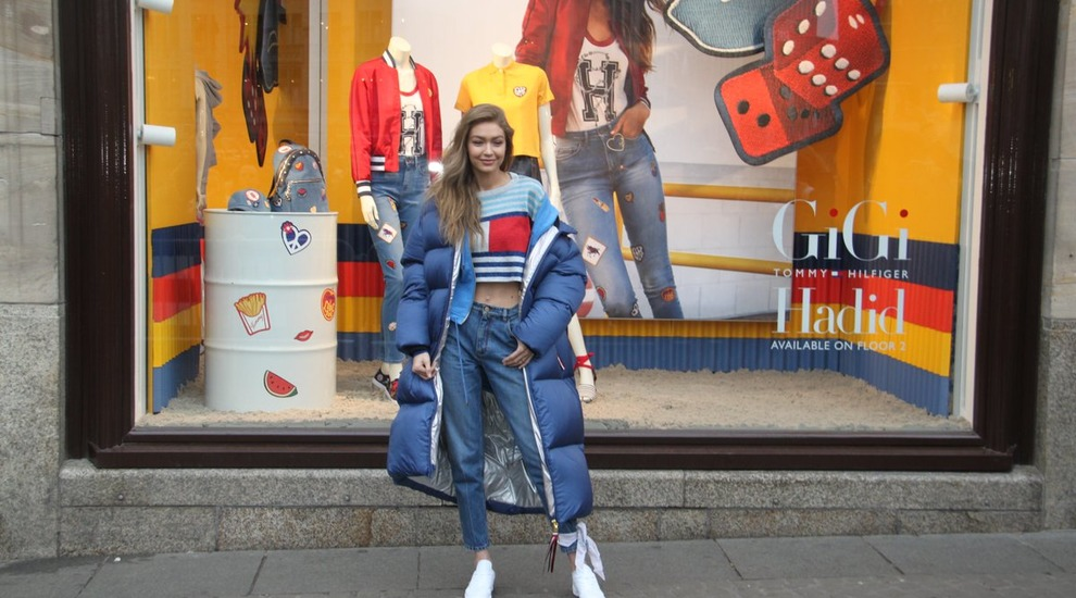 Tommy Hilfiger Pop-up & Etalage