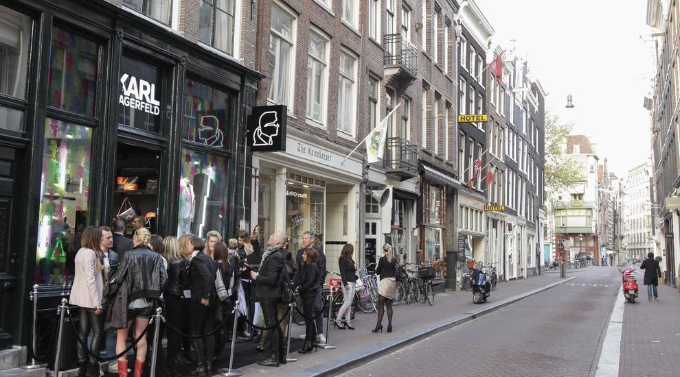 Karl Lagerfeld Store Opening